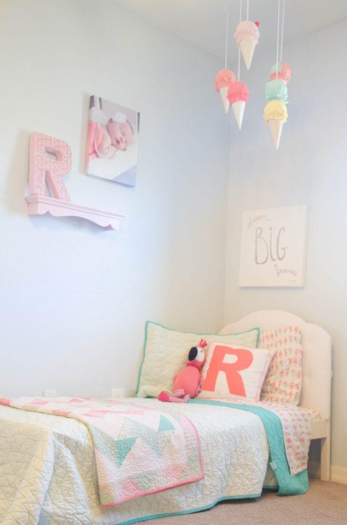 Cute Girls Bedroom Ideas Easy Diy Ice Cream Cones Decor Craft